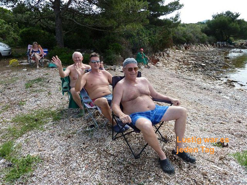 Die Anreise mit der Fähre von Zadar nach Preko