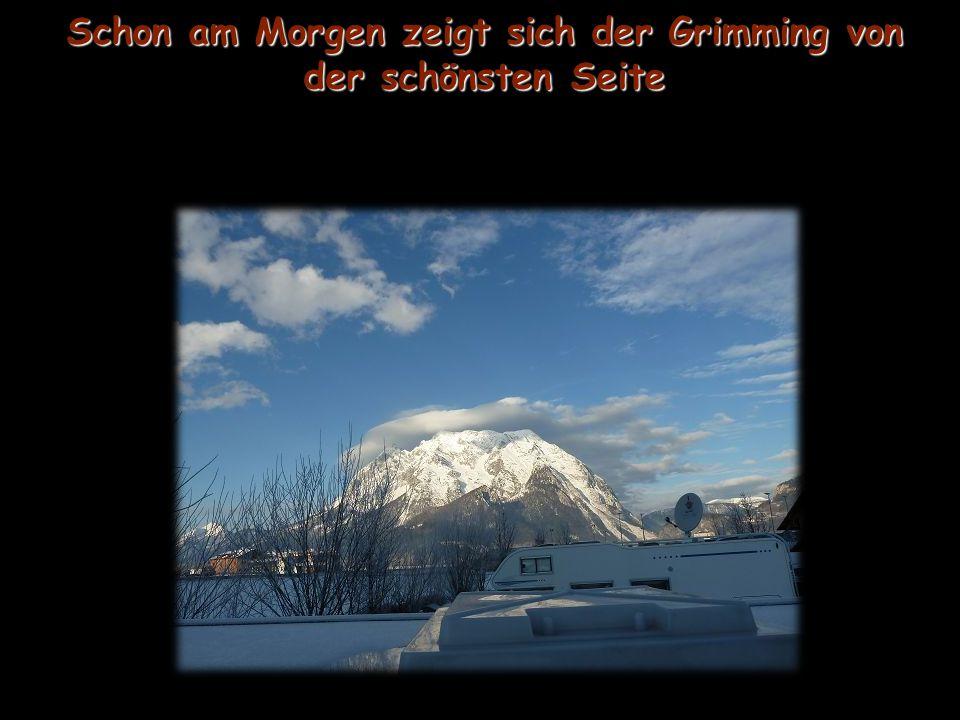 Ob bei Schneefall oder Sonnenschein.... Das Ennstal in seiner schönsten Pracht