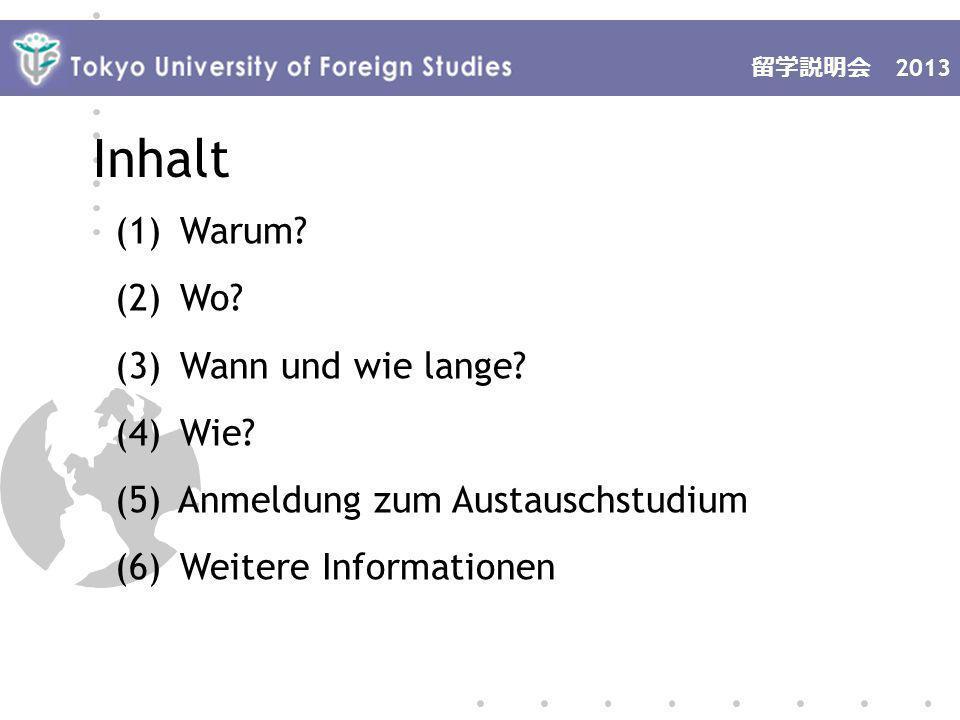 2013 (1) Warum.Was sind meine Ziele. Ich will mein Deutsch verbessern.
