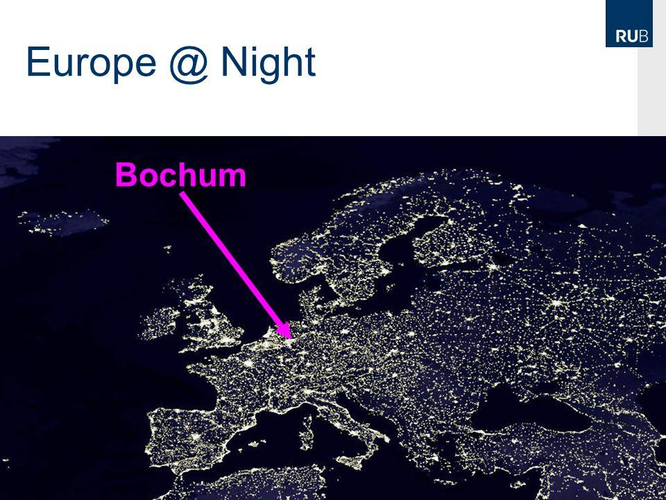Europe @ Night Bochum