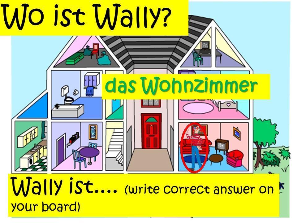 Aber was macht Wally im Dachboden? Wally liest im Dachboden ein Buch Wally der Dachbodenininlesen Die Antworte ist: ein Buch Falsch Schreibe die richt