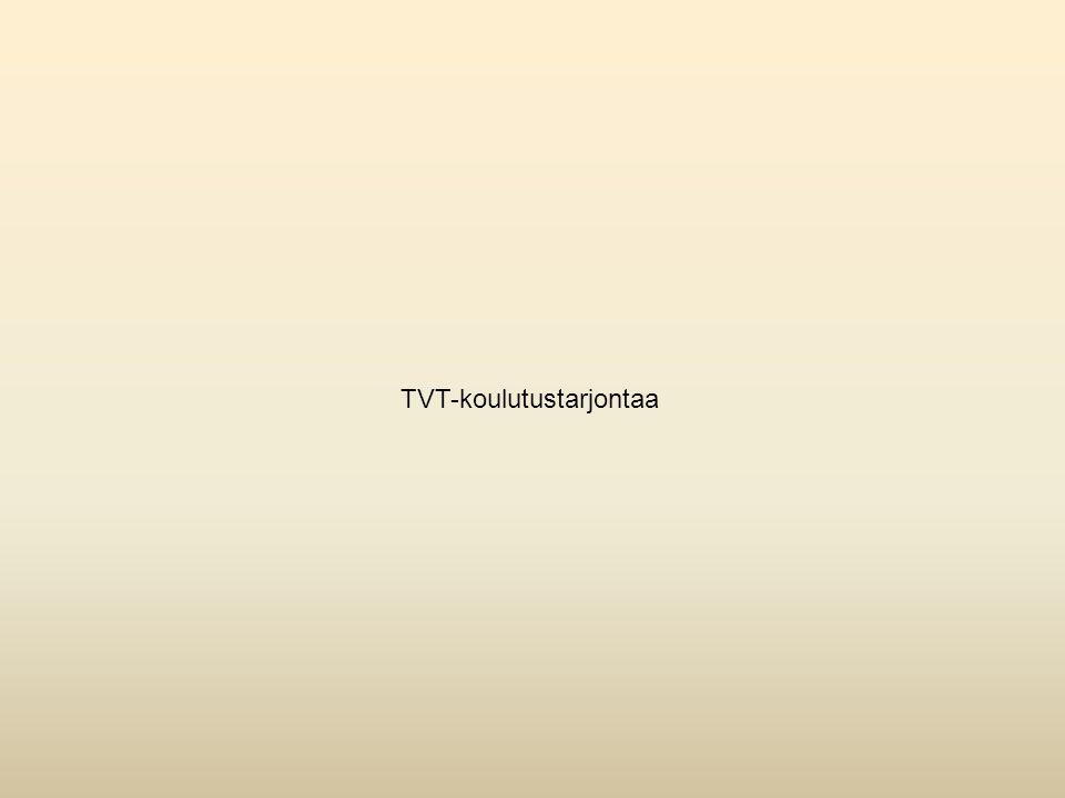 TVT-koulutustarjontaa