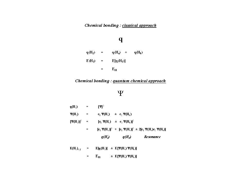 A + B A-B (A) + (B) [ (A) + (B)](r A-B ) E elstat (A,B) =NÂ (A,B) E Pauli NÂ (A,B) (A-B) E Orb 1.