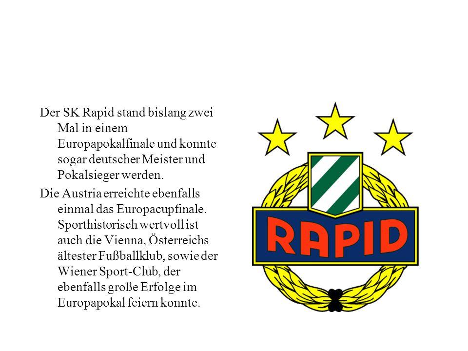Sport Wien kommt im österreichischen Sportgeschehen eine zentrale Rolle hinzu. Viele neue Sportarten verbreiteten sich von hier aus nach ganz Österrei