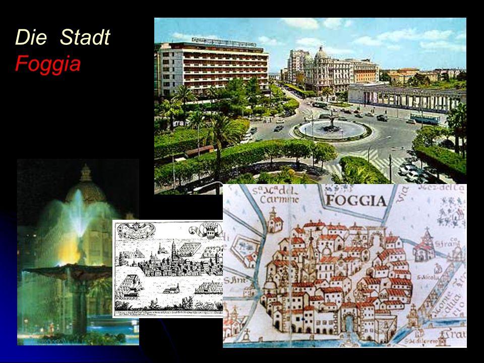 Die Stadt Foggia