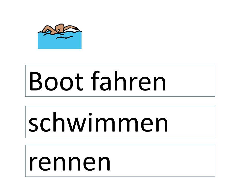schwimmen Boot fahren rennen