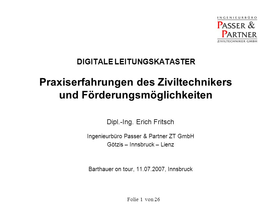 Folie von 262 INHALT 1.Einleitung und Historie 2.