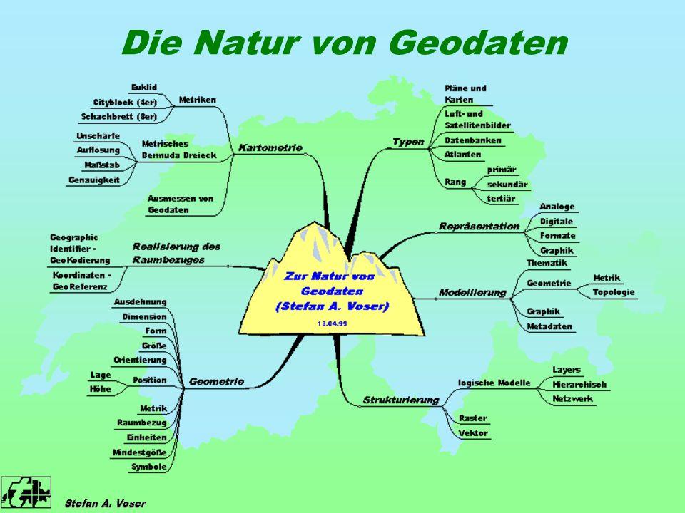 Stefan A. Voser Die Natur von Geodaten
