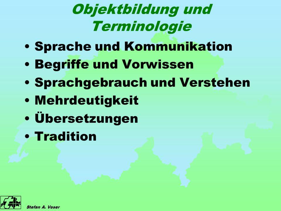 Stefan A.Voser Harmonisierung vs.