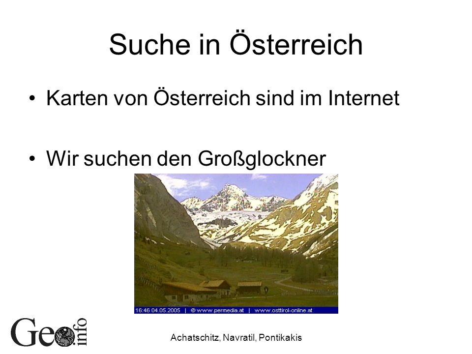 Suche in Österreich Karten von Österreich sind im Internet Wir suchen den Großglockner