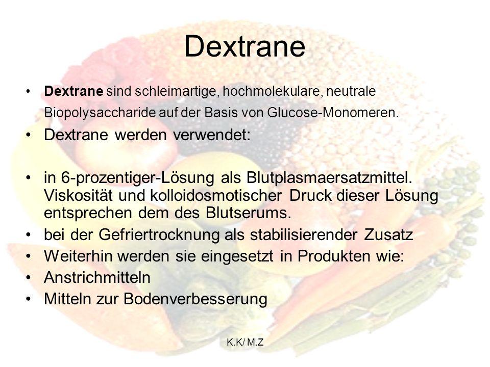 K.K/ M.Z Polysaccharide Polysaccharide (auch als Glykane bezeichnet), eine Unterklasse der Kohlenhydrate, sind Vielfachzucker mit vielen Monosaccharid