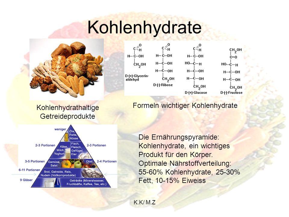 K.K/ M.Z Kohlenhydrate