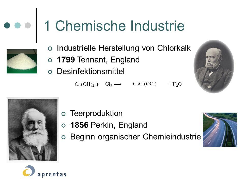 1 Chemische Industrie Fritz Haber entwickelte die katalytische Ammoniak-Synthese Fritz Haber Synthetische Düngemittel Carl Bosch fand Möglichkeit zur massenhaften Herstellung von Ammoniak Carl Bosch