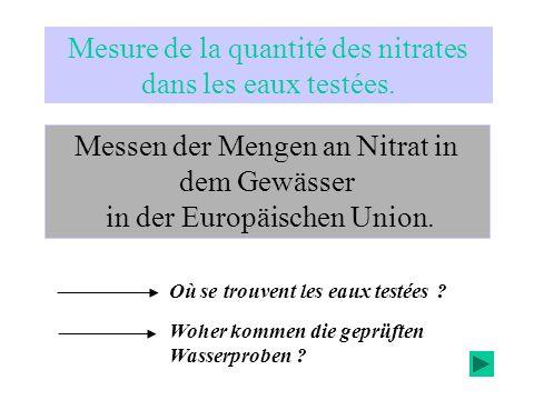 Pourquoi y a-t-il pollution des eaux par les nitrates .