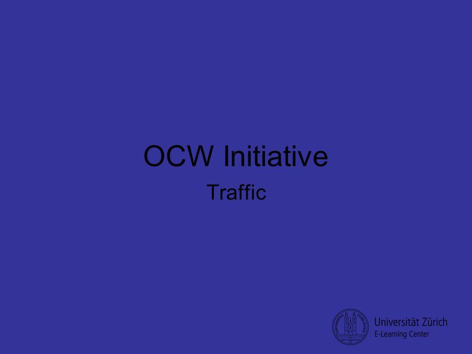 OCW Initiative Traffic