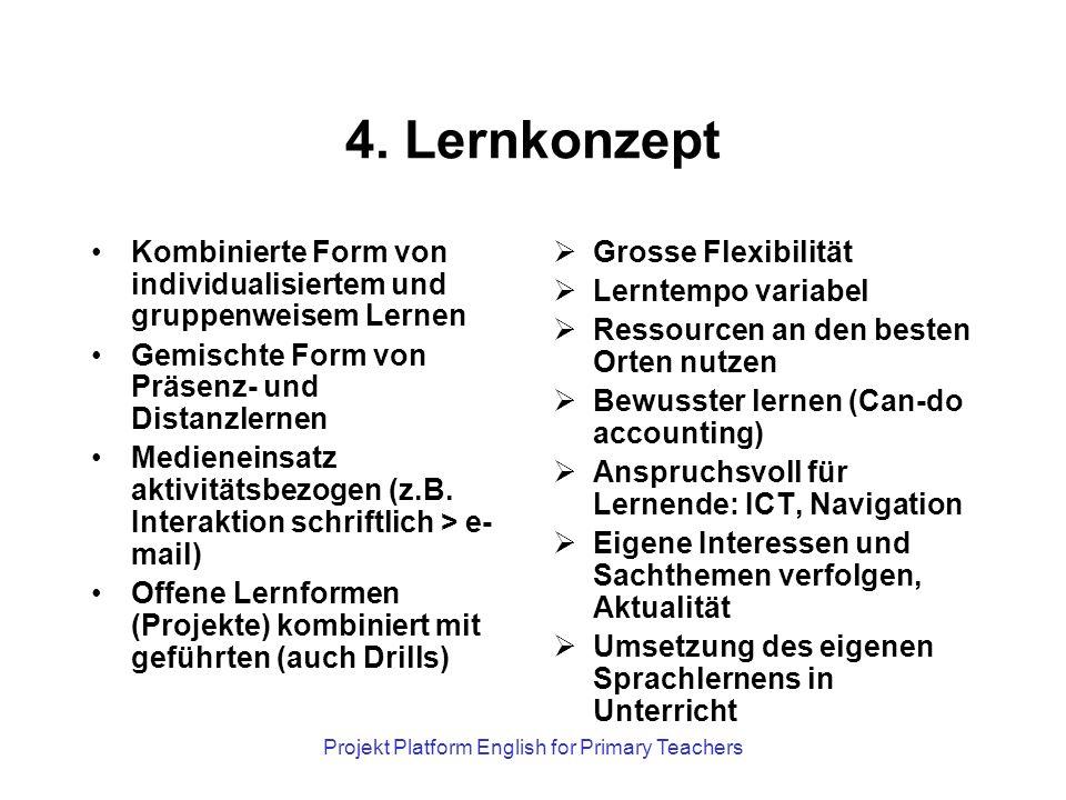 Projekt Platform English for Primary Teachers 5.