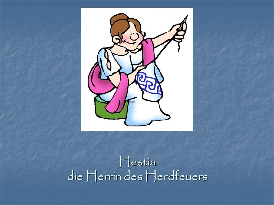 Hestia die Herrin des Herdfeuers