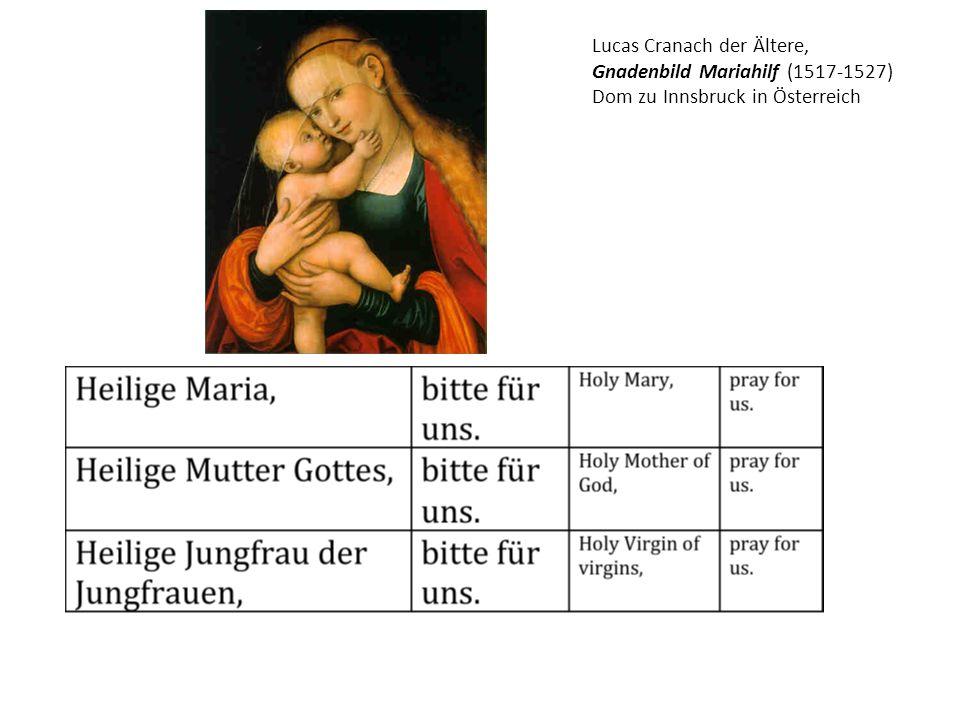 Mathis Gothart Grünewald, Stuppacher Madonna (1518)
