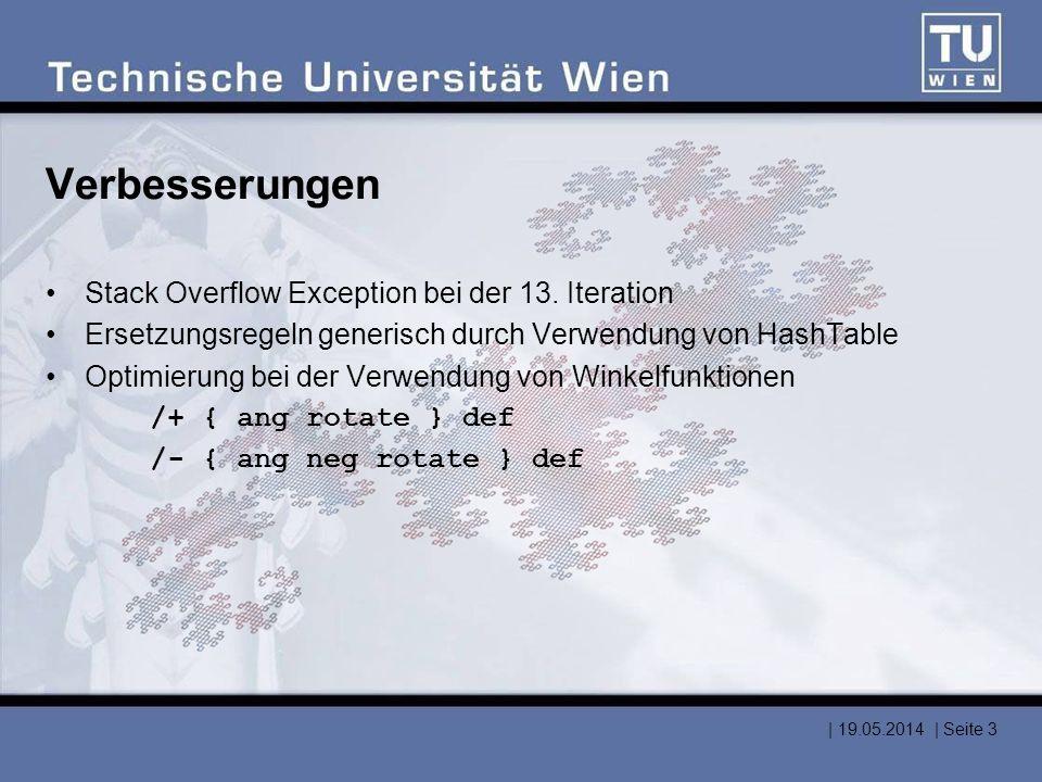 Lösung 1 – Rekursives Ersetzen Problem: –Stacktiefe beschränkt (~ 60.000 Elemente) –Arrays beschränkt (max.