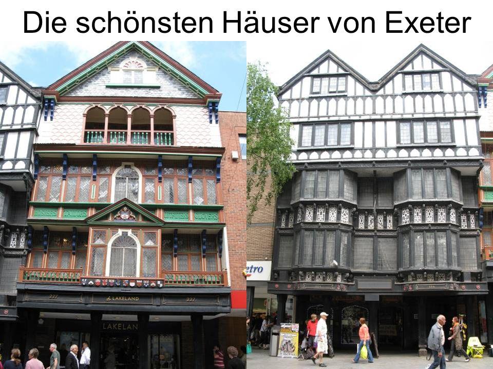 Die schönsten Häuser von Exeter