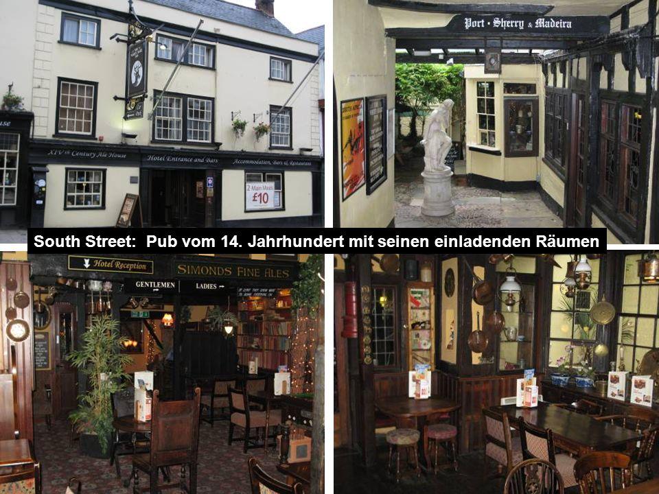 South Street: Pub vom 14. Jahrhundert mit seinen einladenden Räumen