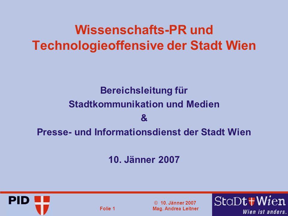 © 10. Jänner 2007 Mag.