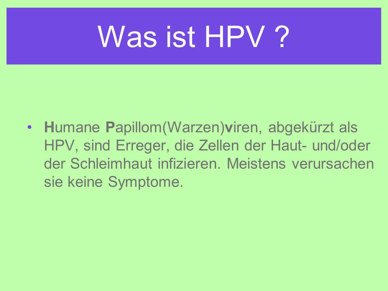 Was ist HPV .