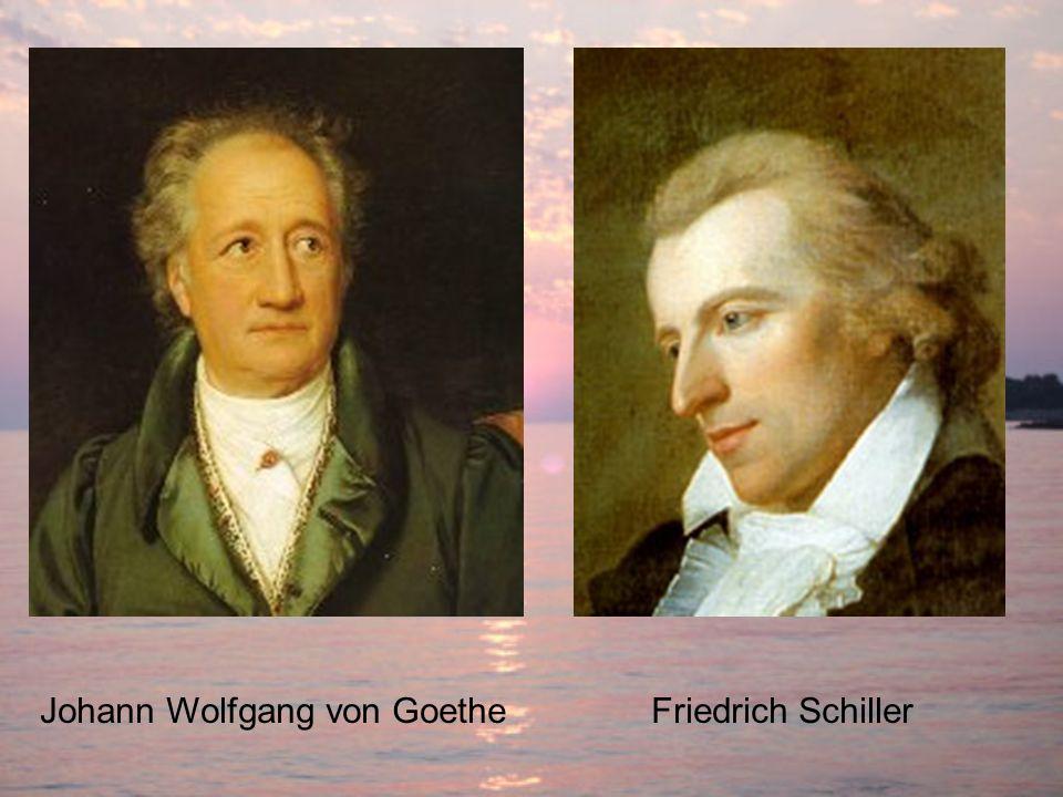 Friedrich SchillerJohann Wolfgang von Goethe
