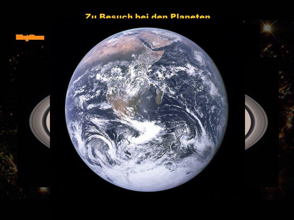 Zu Besuch bei den Planeten Merkur Venus Mars Jupiter Saturn UranusNeptun Pluto Erde