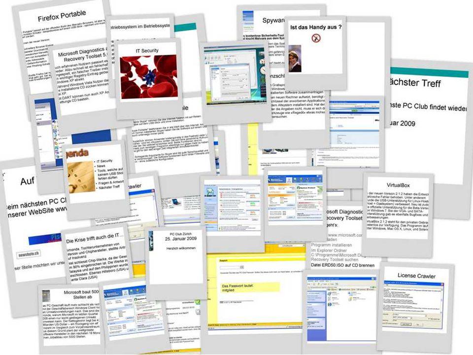 100 Tage Windows Nach 100 Tagen Arbeiten mit Windows kann aus meiner Sicht folgendes Fazit gezogen werden: