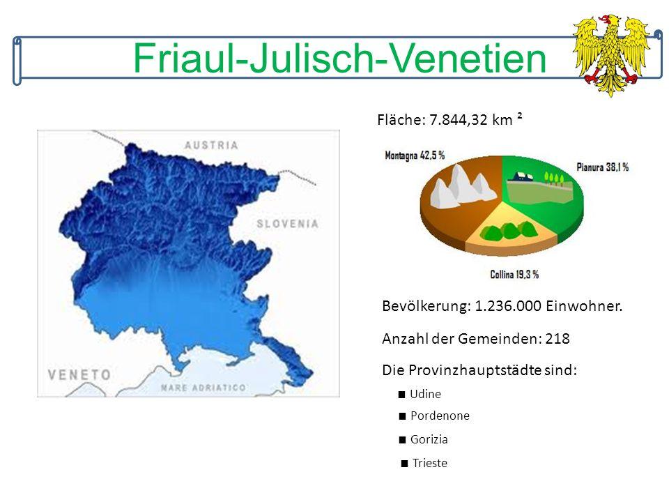 Fläche: 7.844,32 km ² Bevölkerung: 1.236.000 Einwohner.