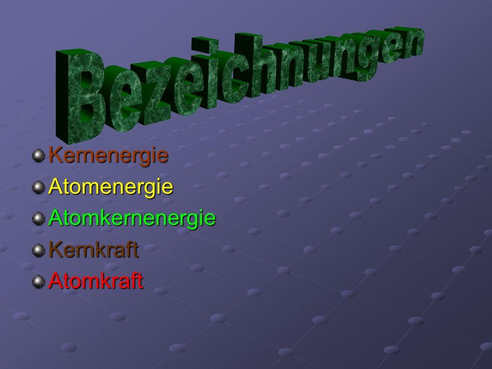 KernenergieAtomenergieAtomkernenergieKernkraftAtomkraft