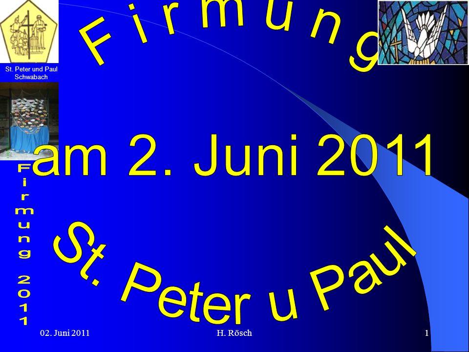 St.Peter und Paul Schwabach 02. Juni 2011H. Rösch12 Eine Abordnung der Historisch Königl.