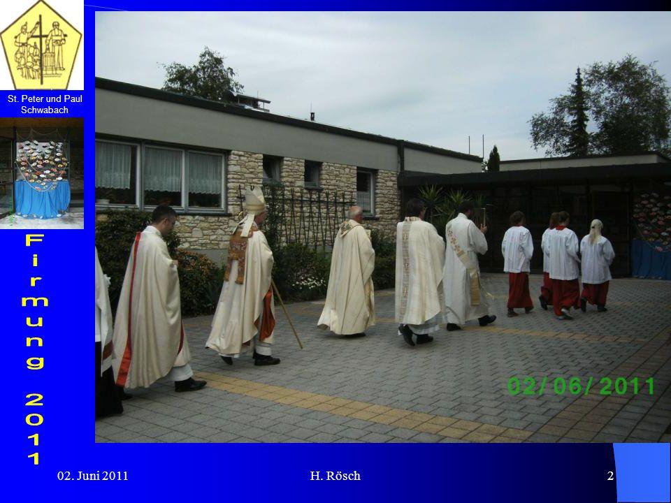 St. Peter und Paul Schwabach 02. Juni 2011H. Rösch2
