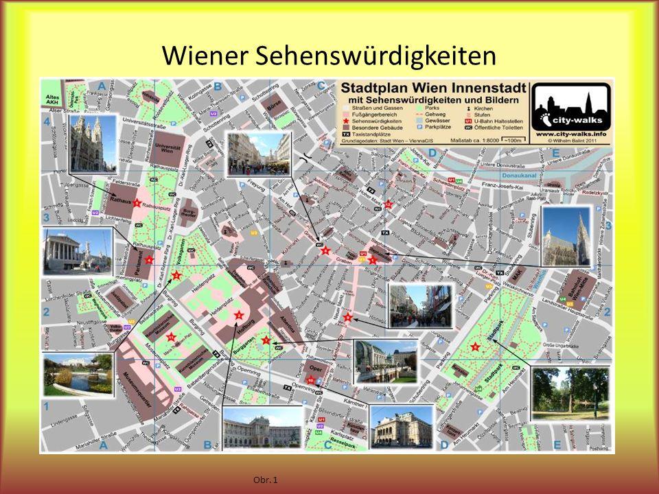 Wiener Sehenswürdigkeiten Obr. 1