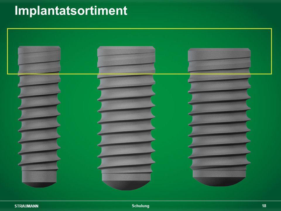 STRAUMANN 18 Schulung Implantatsortiment
