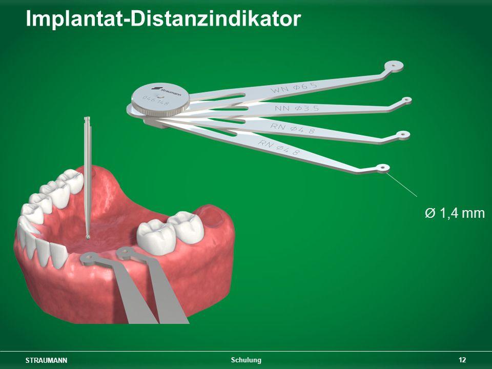 STRAUMANN 12 Schulung Implantat-Distanzindikator Ø 1,4 mm