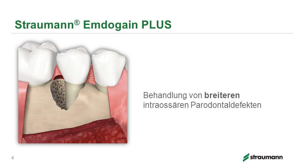 4 Behandlung von breiteren intraossären Parodontaldefekten
