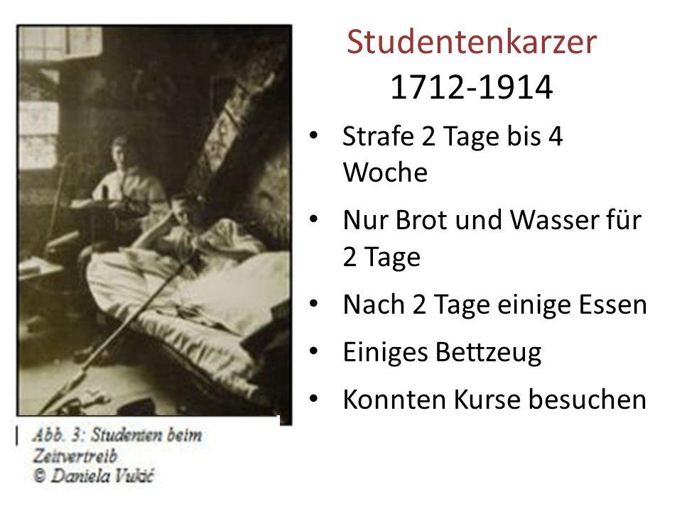 Studenten Disziplin nach 1712 Mittelstand Studenten besuchen die Uni Viele Studenten Neue Methoden der Disziplin gebraucht