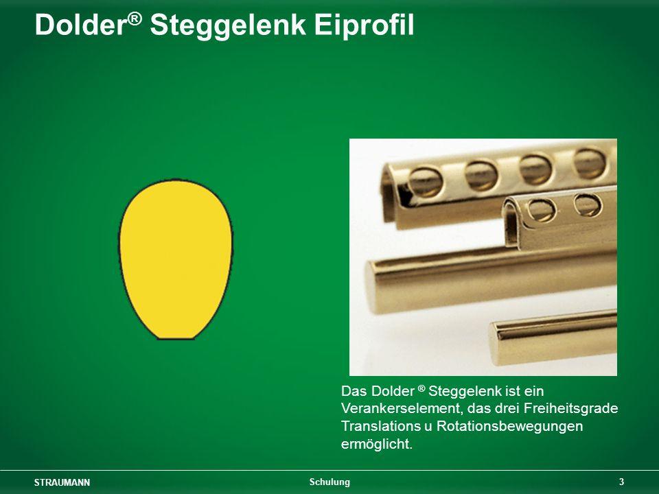 STRAUMANN 24 Schulung Kunststoffkomponenten