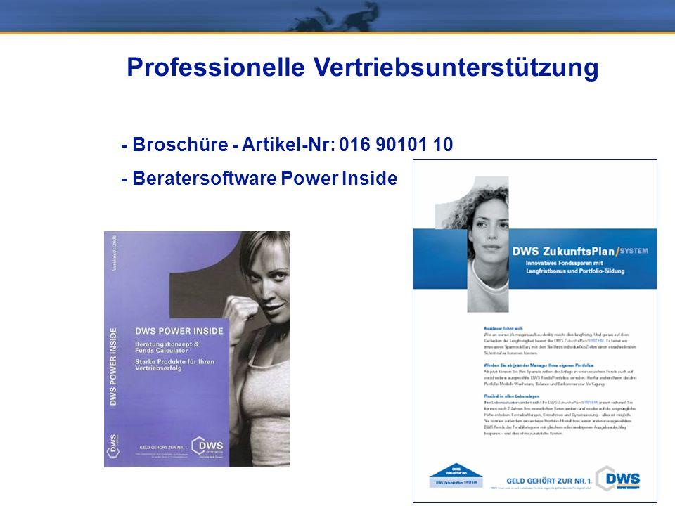Professionelle Vertriebsunterstützung - Broschüre - Artikel-Nr: 016 90101 10 - Beratersoftware Power Inside