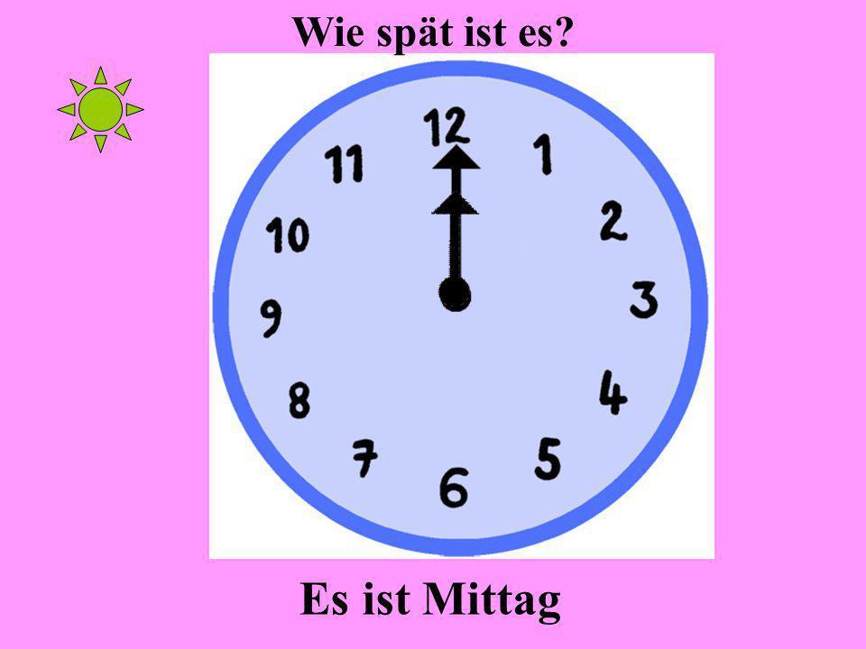 Es ist Mitternacht Wie spät ist es?