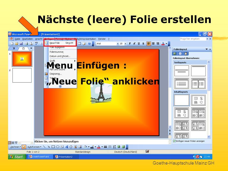 Goethe-Hauptschule Mainz GH Bearbeiten von Grafiken Hier kann man Grafiken transparent machen Grafiken in Helligkeit und Kontrast verändern Grafiken u