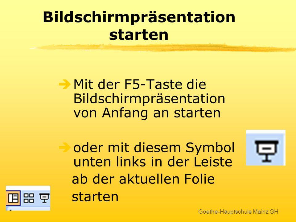 Goethe-Hauptschule Mainz GH Wissenschaftliche Beispielfolie Absatz- Markt Nachfrage Absatzmarkt Angebot der Konkurrenz Eigenes Angebot