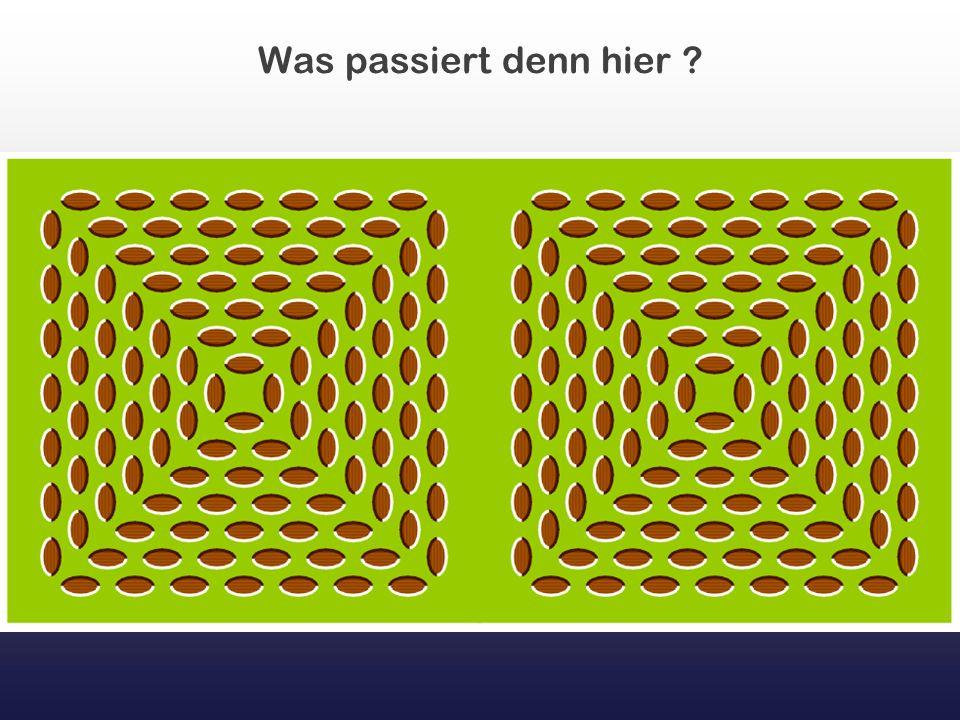 Konzentriere Dich auf die Mitte, dann bemerkst Du mit der Zeit, daß der Laufkreis grün ist...