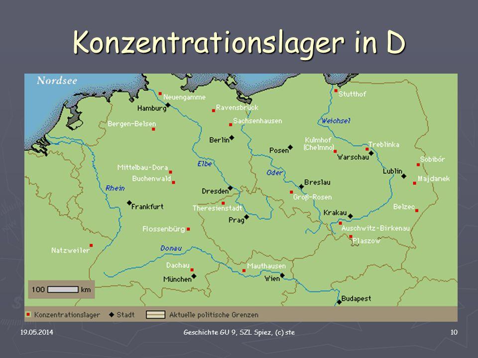19.05.2014Geschichte GU 9, SZL Spiez, (c) ste10 Konzentrationslager in D