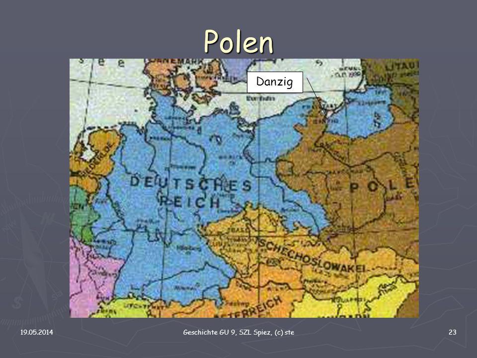 19.05.2014Geschichte GU 9, SZL Spiez, (c) ste23 Polen Danzig