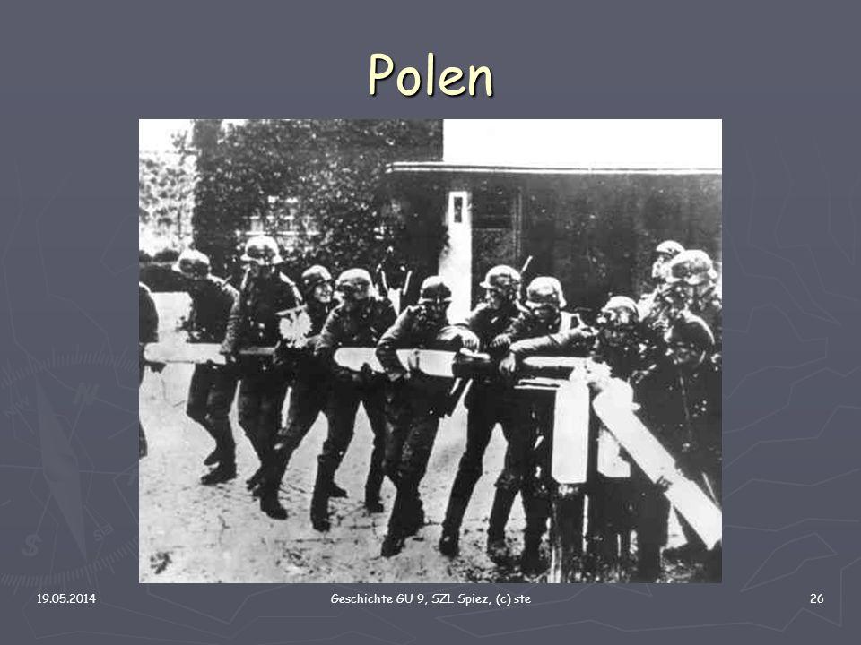 19.05.2014Geschichte GU 9, SZL Spiez, (c) ste26 Polen