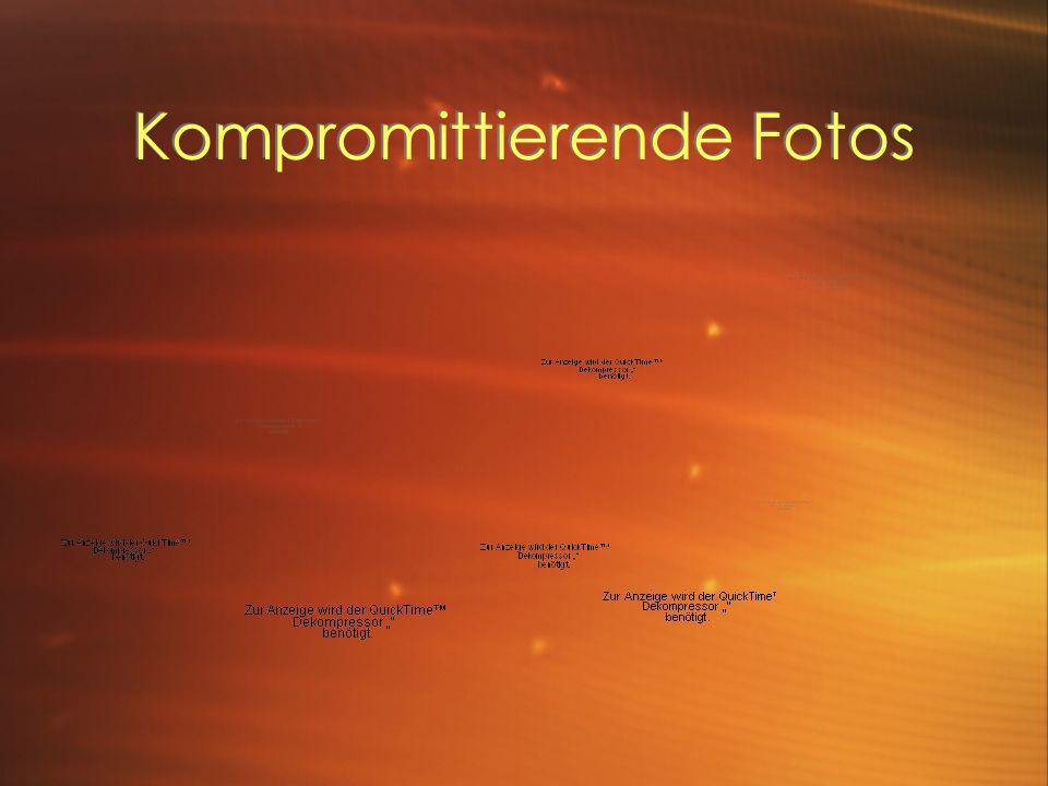 Kompromittierende Fotos