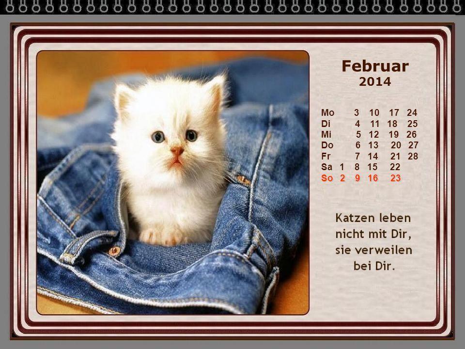 Februar 2014 So 2 9 16 23 Mo 3 10 17 24 Di 4 11 18 25 Mi 5 12 19 26 Do 6 13 20 27 Fr 7 14 21 28 Sa 1 8 15 22 So 2 9 16 23